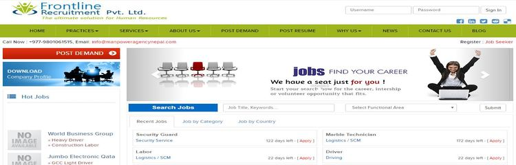Top 5 Leading Manpower Recruitment Agencies in Nepal